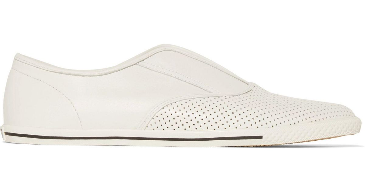 618a5890f41a Lyst - Marc By Marc Jacobs Woman Codie Leather Slip-on Sneakers White Size  40 in White