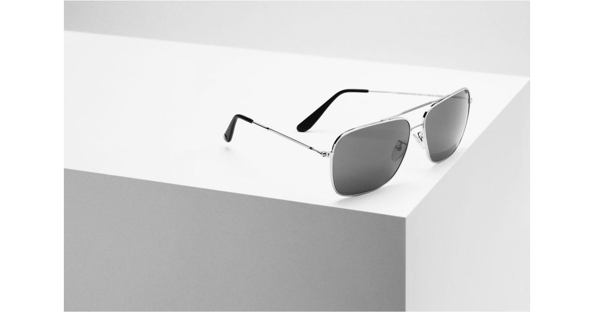 5fdf50e45d4 Lyst - Oliver Goldsmith Wise Guy (1976) Silver   Grey (silver With  Barberini Glass Lenses) Sunglasses in Metallic for Men
