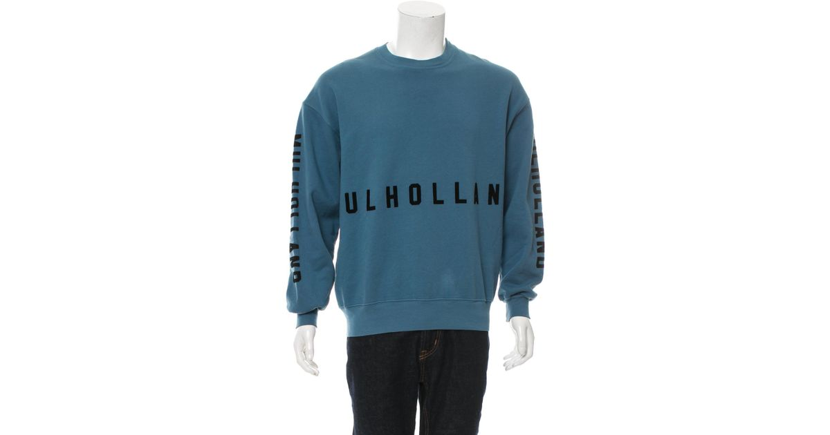 Lyst yeezy season 5 invitation sweatshirt in blue for men stopboris Gallery