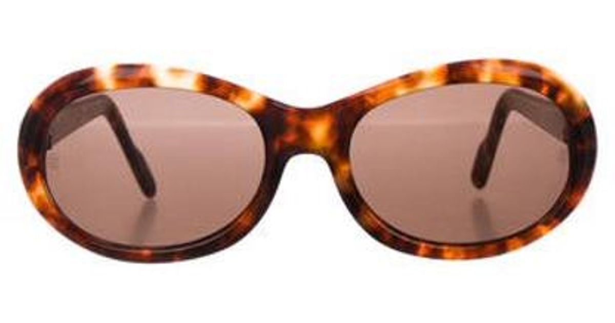 541dc7bea41 Lyst - Cartier Tortoiseshell Tinted Sunglasses Brown in Metallic
