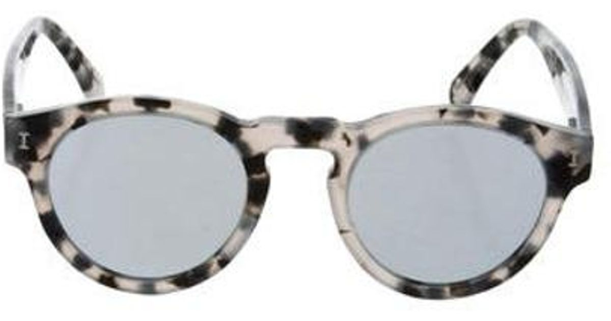 23a666ebd5d9 Lyst - Illesteva Leona Tinted Sunglasses Grey in Gray