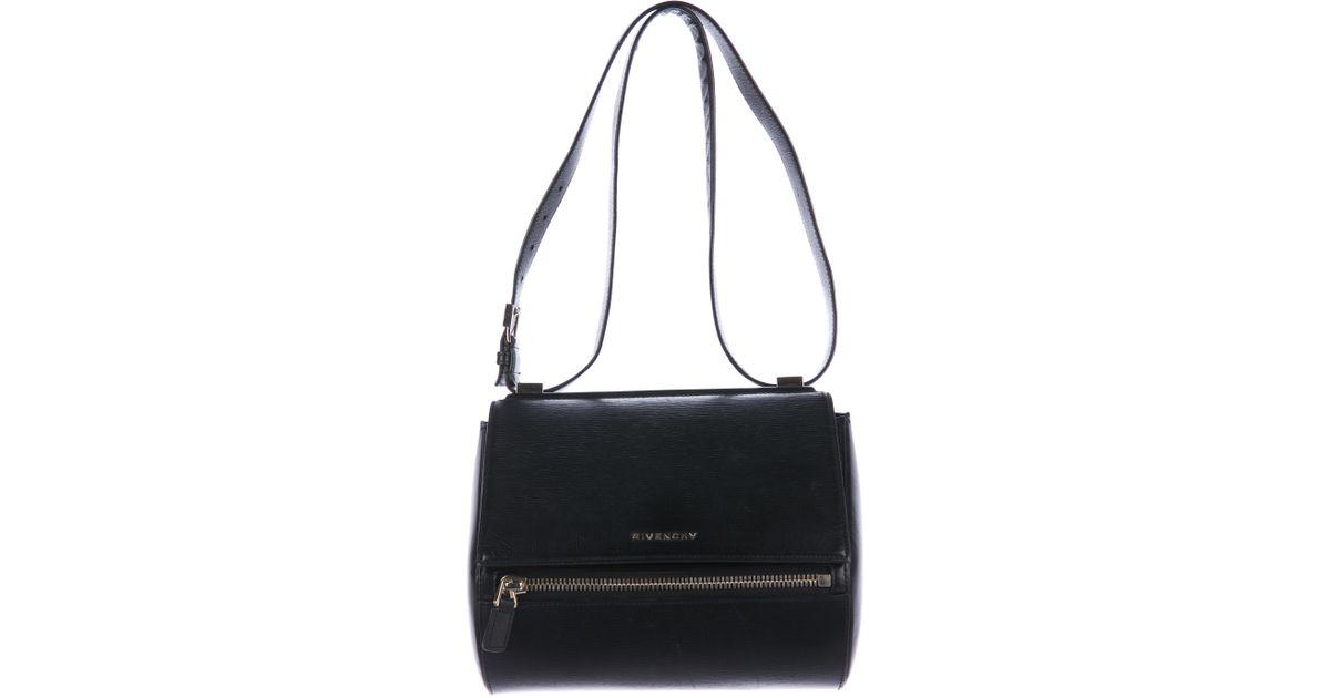 Lyst - Givenchy Medium Pandora Box Bag Black in Metallic 6b53e125dba27