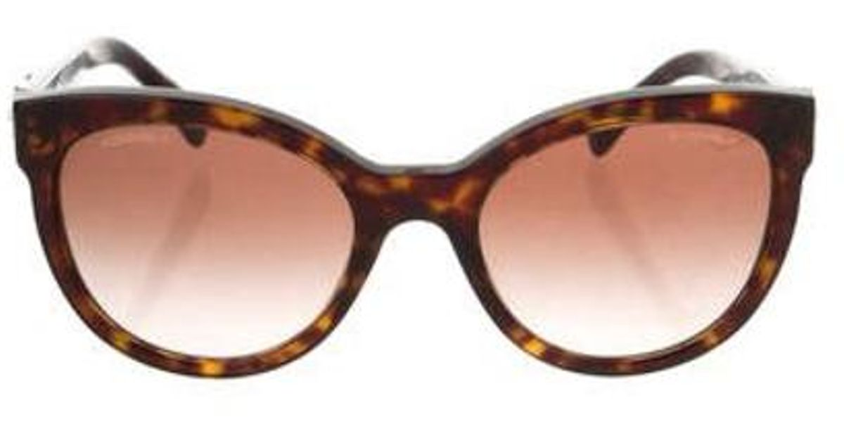9c41ed63b55 Lyst - Chanel Boy Brick Sunglasses in Brown