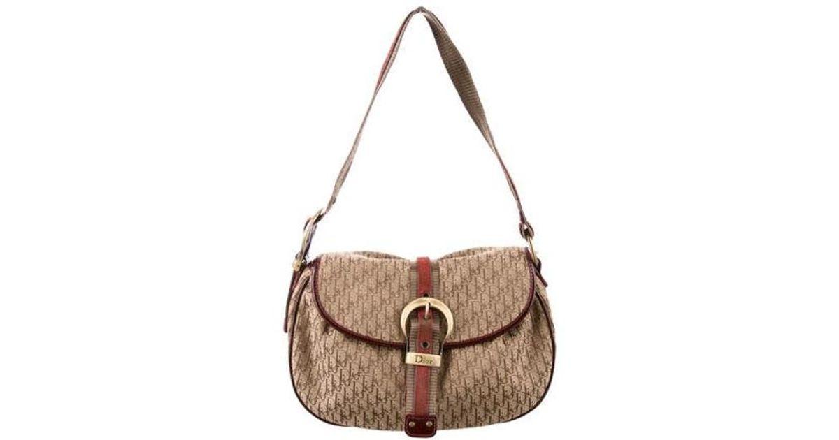 Lyst - Dior Diorissimo Flap Bag Tan in Natural 23d42fe48752b