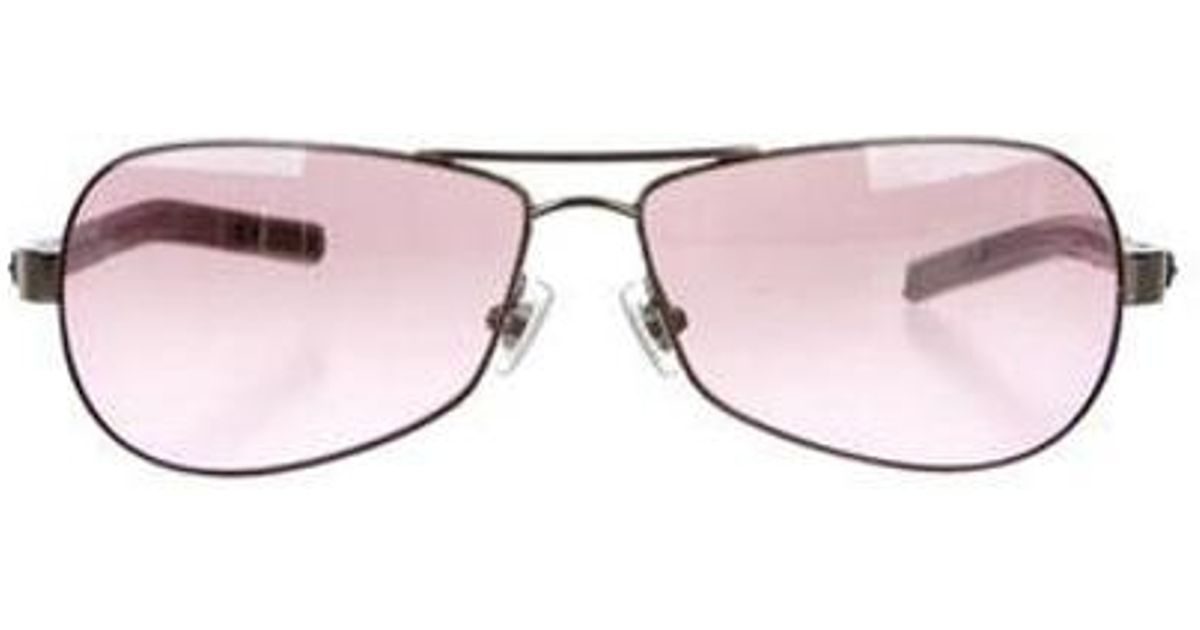 92c15a2228f Lyst - Chrome Hearts Red Riot Sunglasses Pink in Metallic