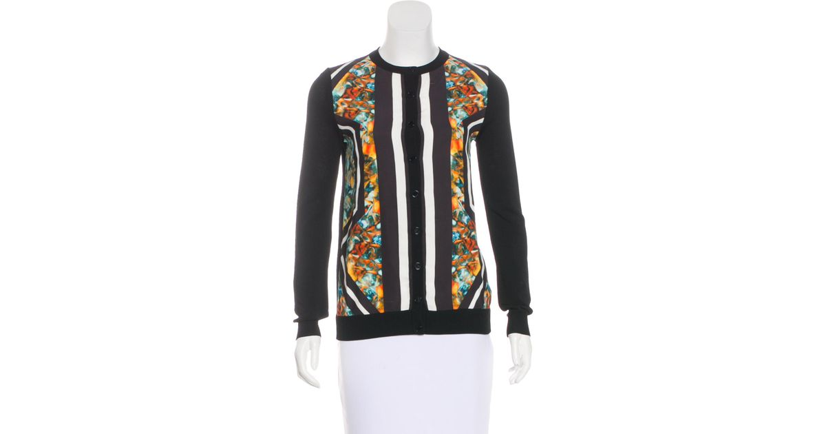 Elie Saab 2015 Abstract Cardigan Free Shipping Affordable Nicekicks Online Discount 2018 Big Sale Cheap Online w0OZ2