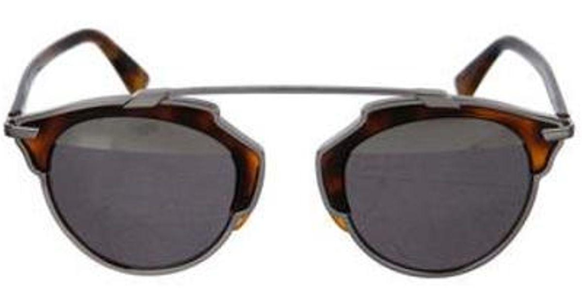 b009686f76 Lyst - Dior So Real Tortoiseshell Sunglasses in Brown