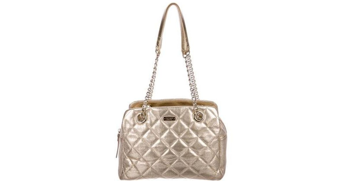 8426cd4661 Lyst - Kate Spade Gold Coast Elizabeth Bag in Metallic