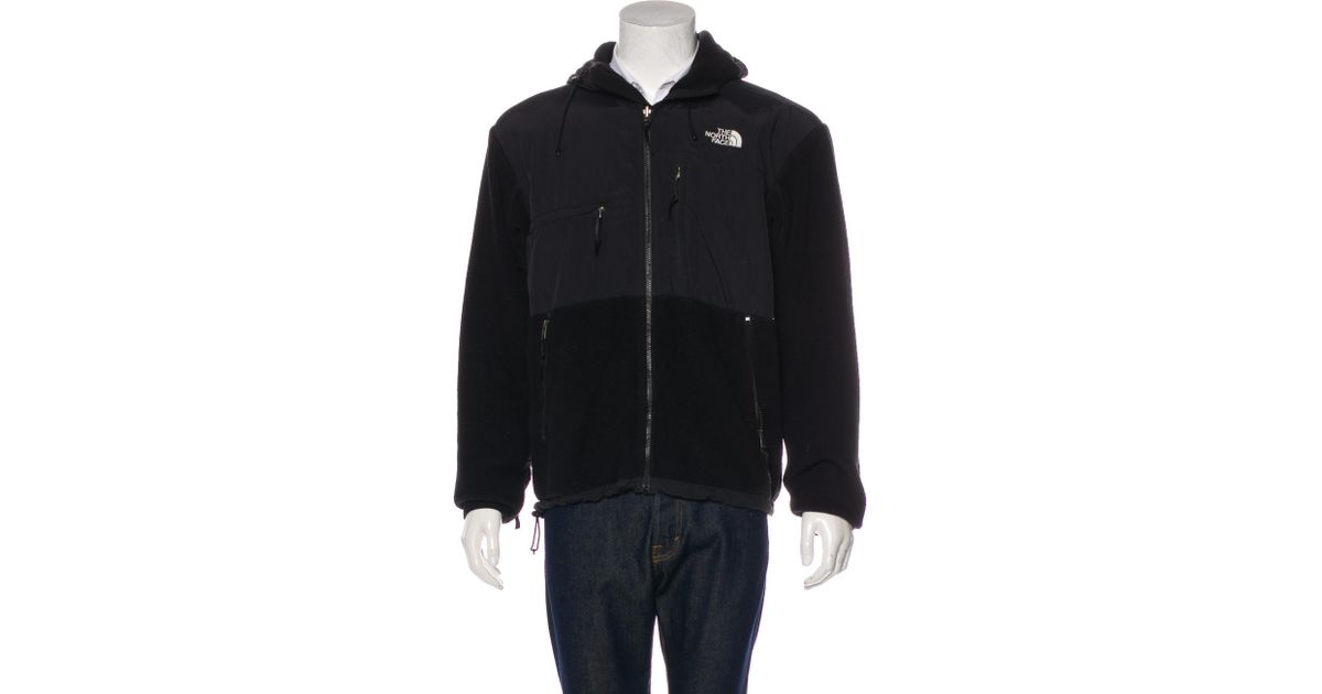 bf2e9954ce76 Lyst - The North Face Quilted Fleece Jacket in Black for Men