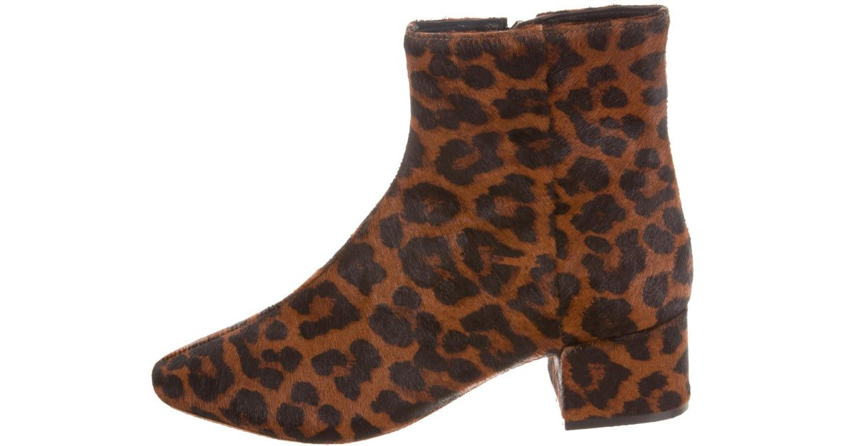 Loeffler Randall Carter Ponyhair Ankle Boots w/ Tags free shipping authentic really cheap price PTmzUa