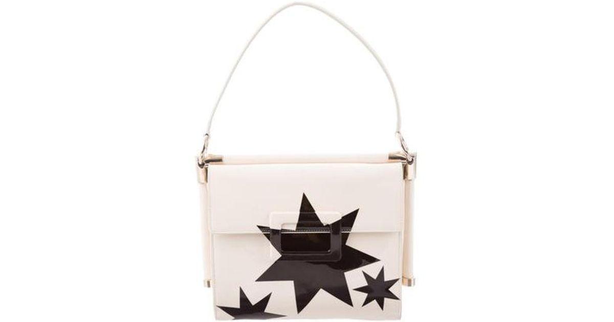 da99a6d1e181 Lyst - Roger Vivier Miss Viv' Carré Small Shoulder Bag Gold in Metallic
