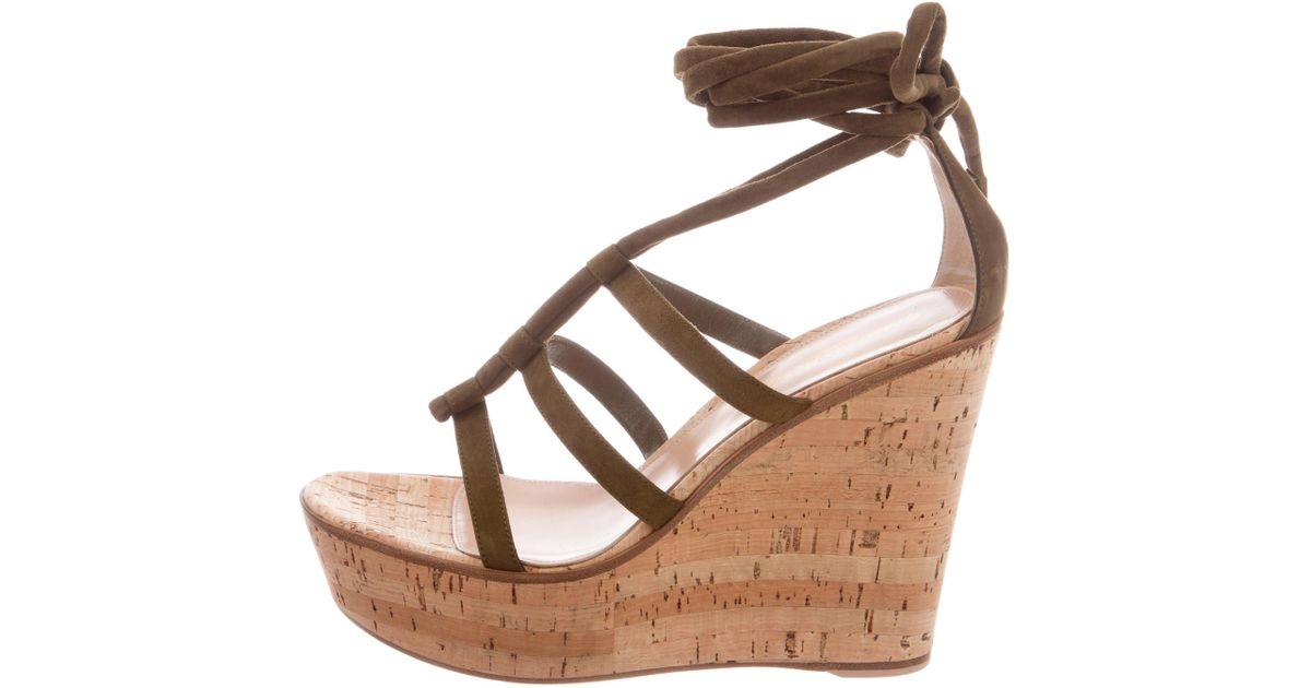 Gianvito Rossi Cayman Platform Wedges w/ Tags buy cheap 2014 newest 3ljBl19S