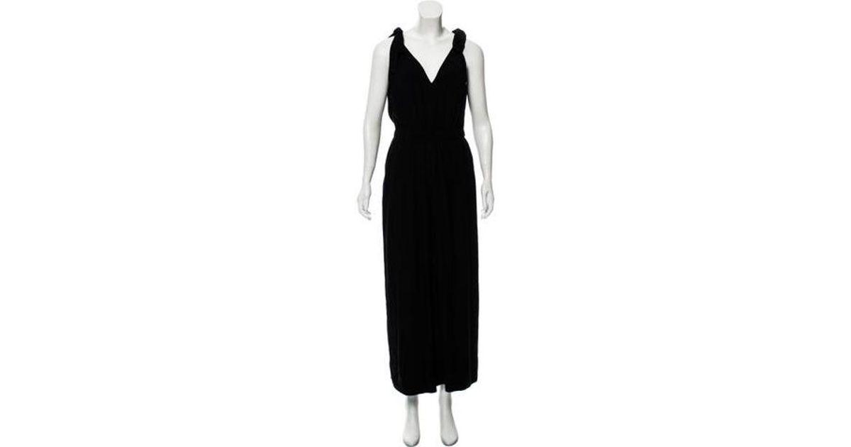 7d6983d1c56 Lyst - Ulla Johnson Sleeveless Wide-leg Jumpsuit in Black