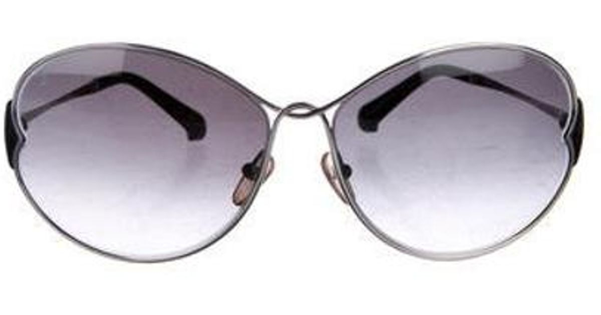 9690efa14df Lyst - Louis Vuitton Daisy Gradient Sunglasses Silver in Metallic