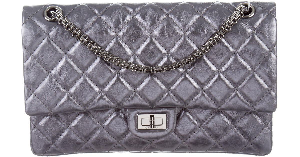 90f65cc589d3 Lyst - Chanel Reissue 226 Double Flap Bag W/ Tags in Metallic