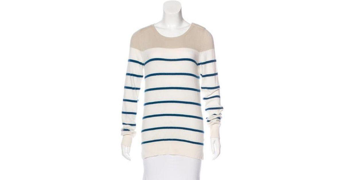 b7e36b1c3113 Lyst - Loro Piana Baby Cashmere Striped Sweater Multicolor