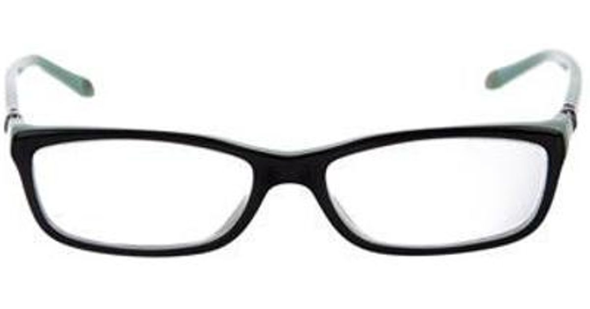 Lyst - Tiffany & Co Rectangle Frame Eyeglasses Black in Natural