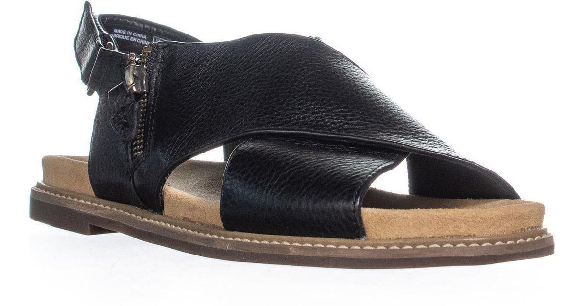 602fa9f14e7 Lyst - Clarks Corsio Calm Criss Cross Sandals in Black