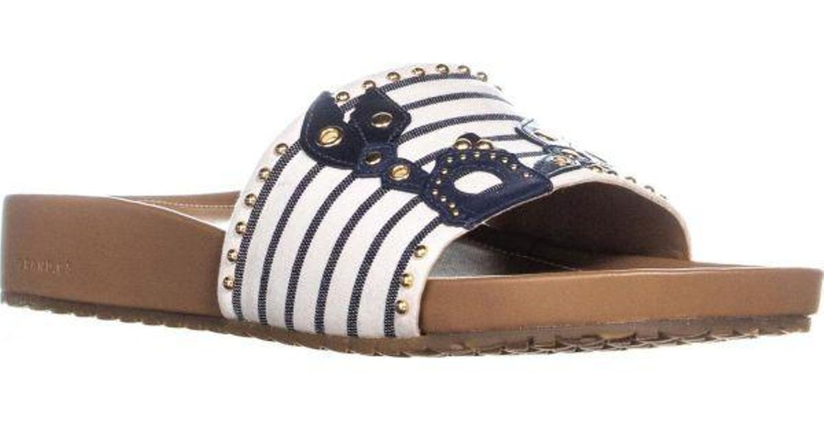 4d80b06d837 Lyst - Cole Haan Pinch Lobster Sandals in Blue