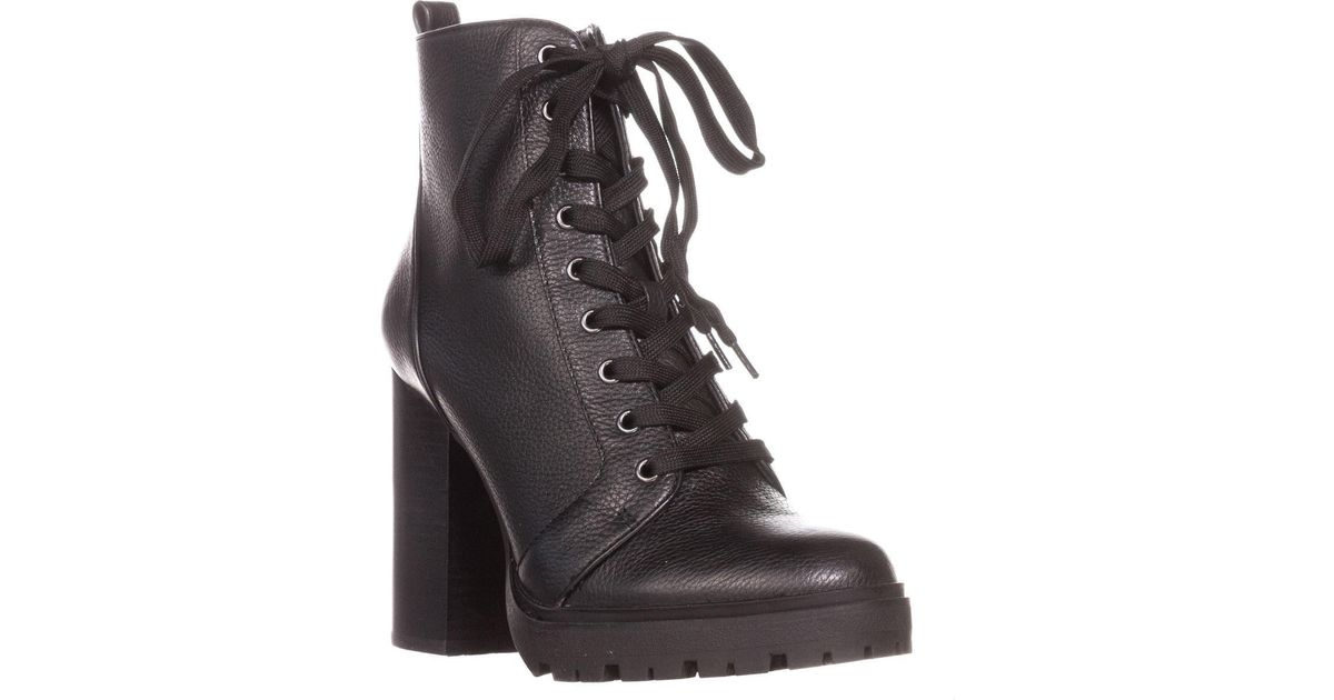 327d1210a43 Lyst - Steve Madden Laurie Casual Ankle Boots in Black