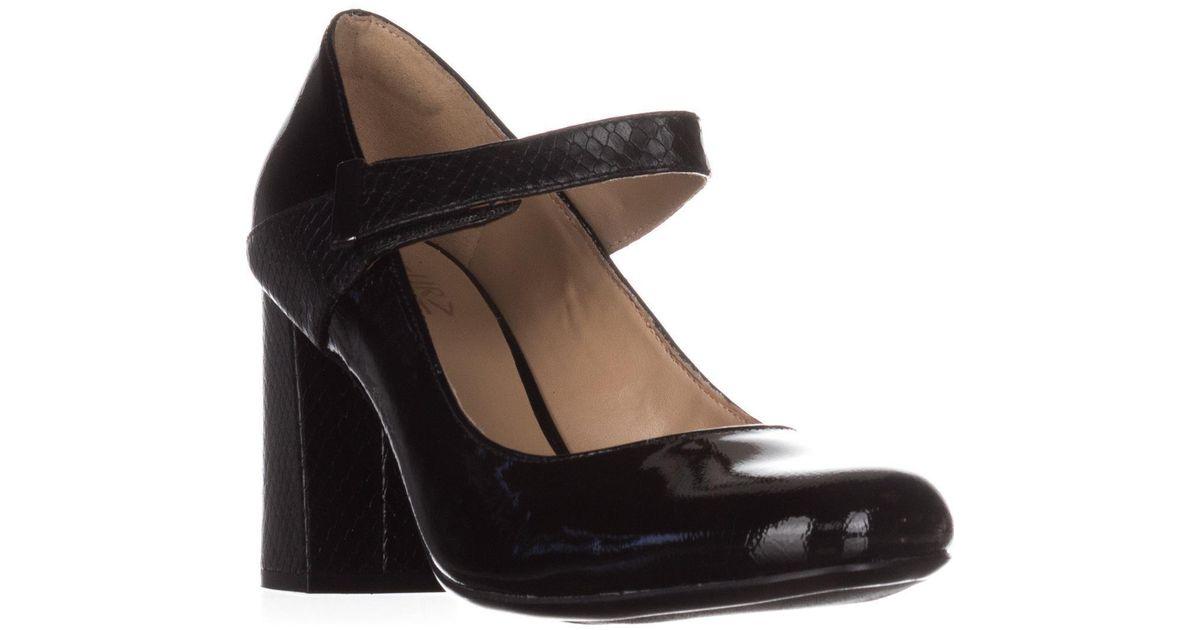 5e09c61d508 Lyst - Naturalizer Reva Dress Mary Jane Heels in Black