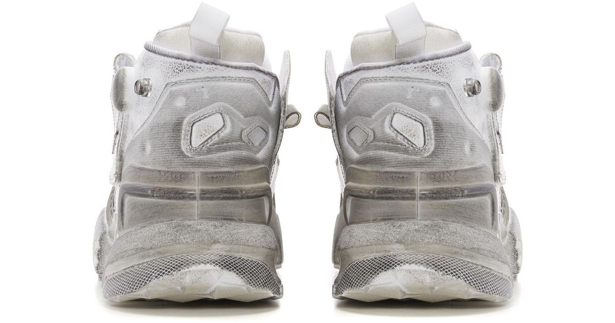 8607cc9c0b6bbc Lyst - Vetements X Reebok Genetically Modified Pump Sneakers in White for  Men