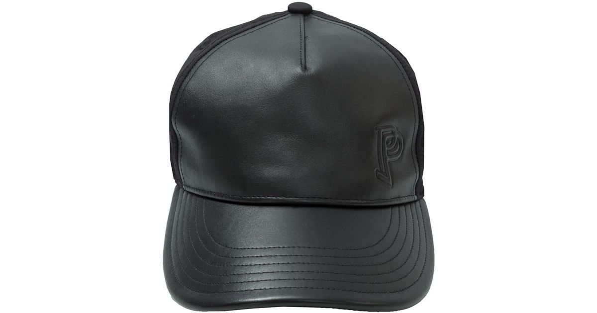 272d2f3e068 Adidas X Paul Pogba Leather Cap in Black for Men - Lyst