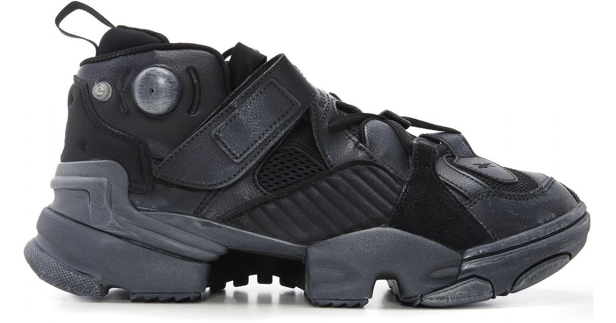 Lyst - Vetements X Reebok Genetically Modified Pump Sneakers in Black for  Men ad4b7da49