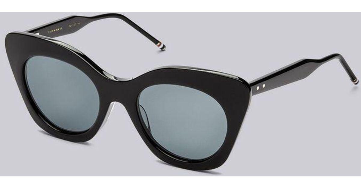 Thom sol Gafas Browne gris negras lente oscuro con de vpWx4qwzS