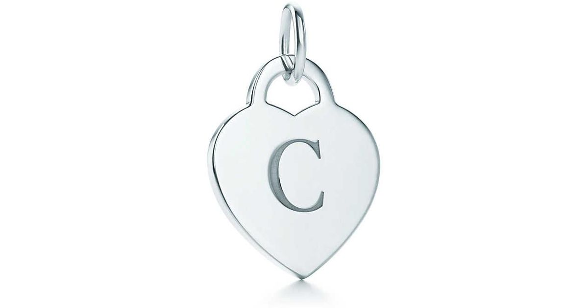 Charmes Tiffany Charme Alphabet En Lettres D'argent Sterling Az Disponible - Taille X Tiffany & Co. KRBdaceu