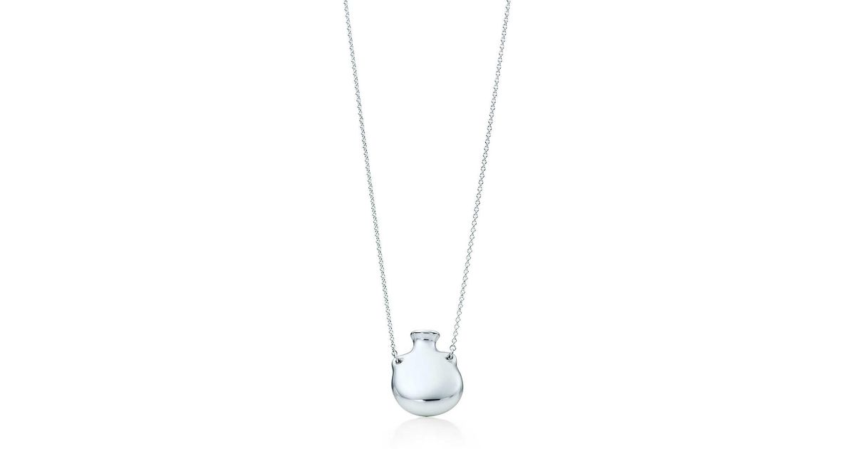 4657943a0 Tiffany & Co. Bottle Open Bottle Pendant in Metallic - Lyst