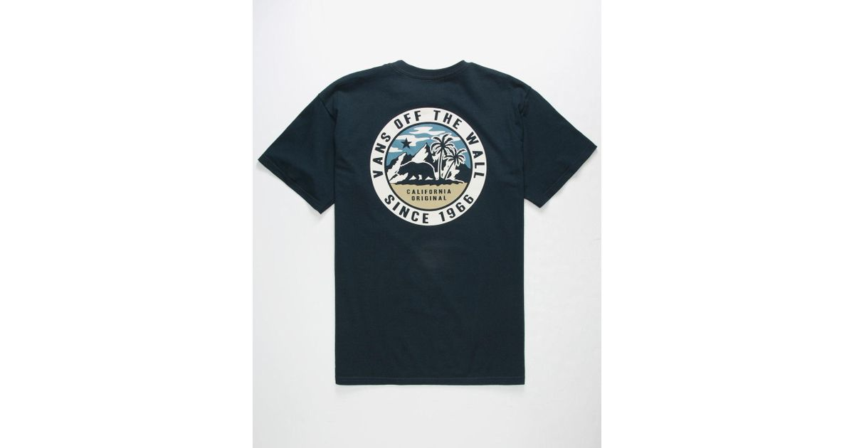 3fa124ca71 Lyst - Vans Bear Patch Mens T-shirt in Blue for Men
