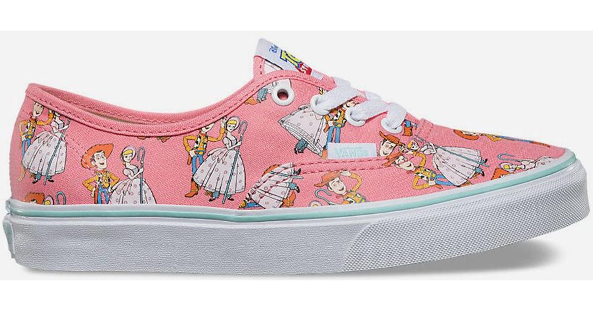 31307453afa Lyst - Vans X Toy Story Woody   Bo Peep Authentic Womens Shoes