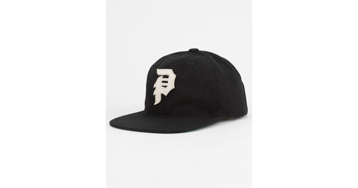 545cca6375ce5 Lyst - Primitive Dirty P Mens Snapback Hat in Black for Men