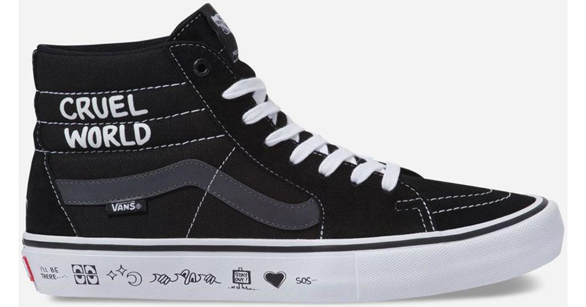 bdd1c274533c Lyst - Vans X Cult Sk8-hi Pro Mens Shoes in Black for Men