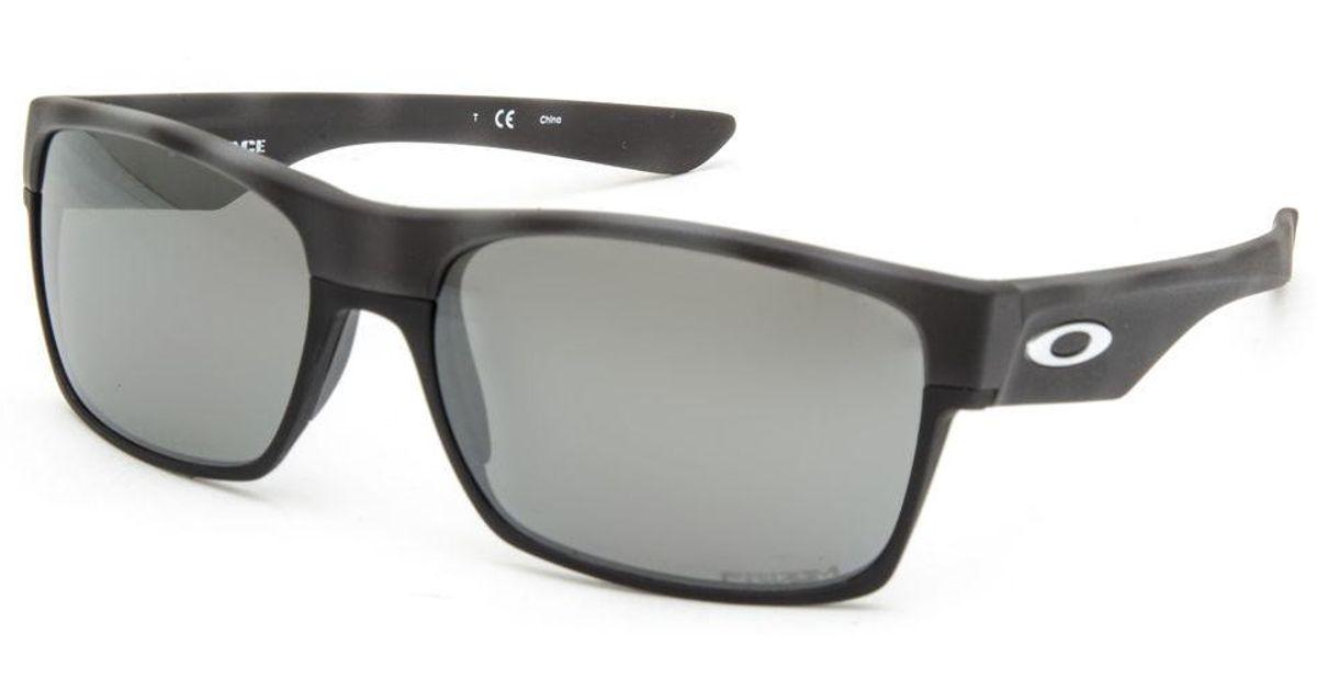20afccd0b2 Lyst - Oakley Twoface Black Camo   Prizm Black Polarized Sunglasses in Black  for Men