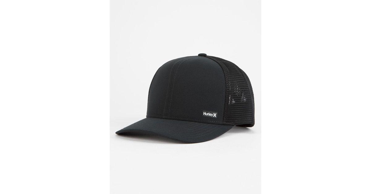 5d1e1bd5be6 Lyst - Hurley Dri-fit League Mens Trucker Hat in Black for Men