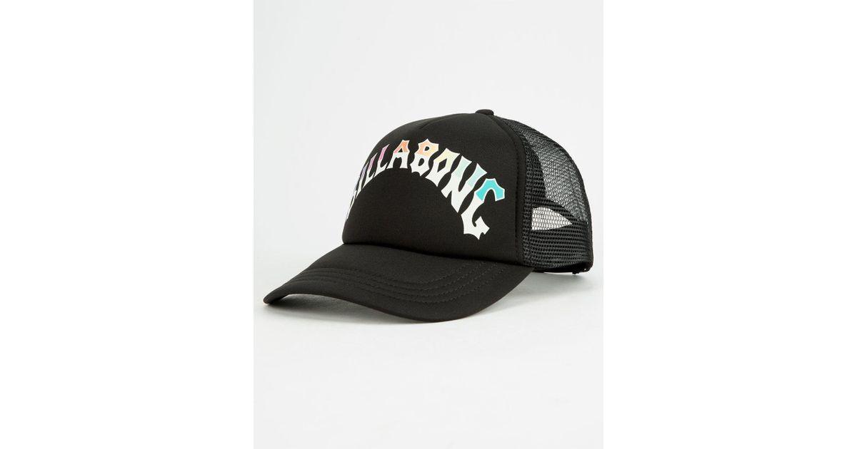 2780c94f Lyst - Billabong Across Waves Womens Trucker Hat in Black for Men
