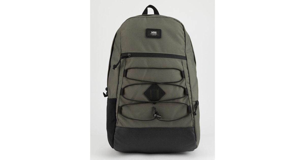 a12d2426d0e Vans Snag Plus Grape Leaf Backpack in Green for Men - Lyst
