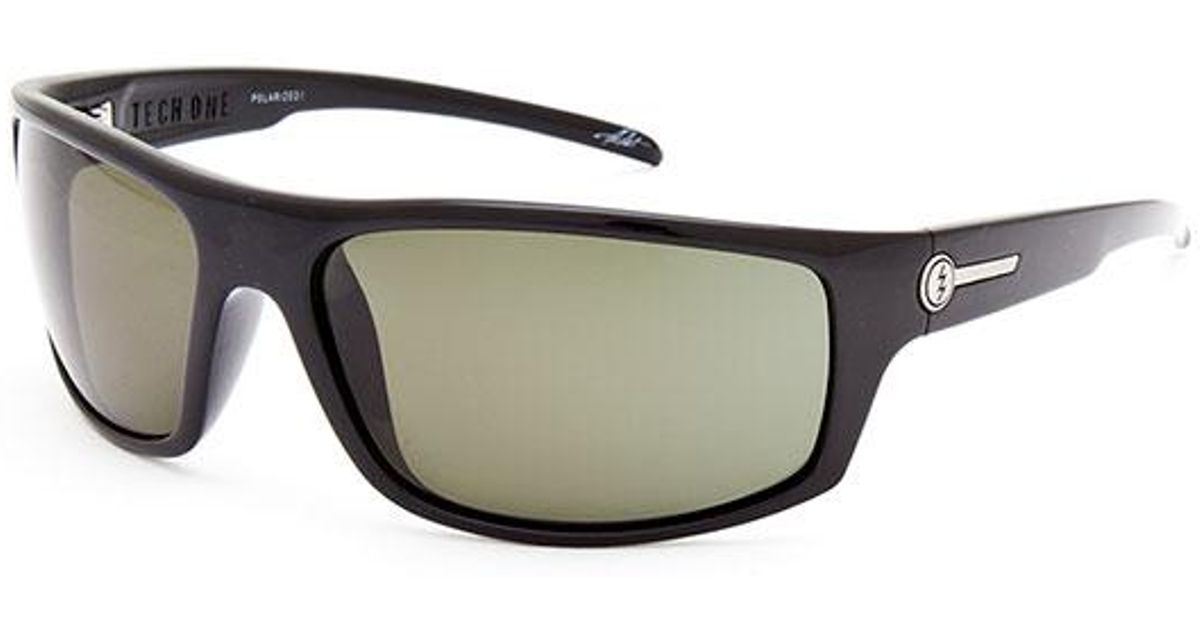 5842ea6d475 Lyst - Electric Tech One Polarized Sunglasses in Black