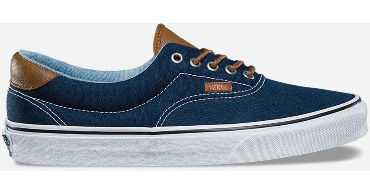 fa0f03f8f4 Lyst - Vans C l Era 59 Dress Blues   Acid Denim Shoes in Blue for Men