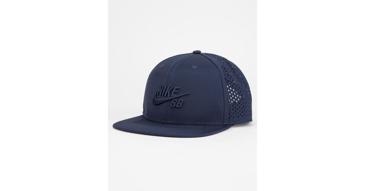 Lyst - Nike Sb Performance Mens Trucker Hat in Blue for Men 84d741bdfca0