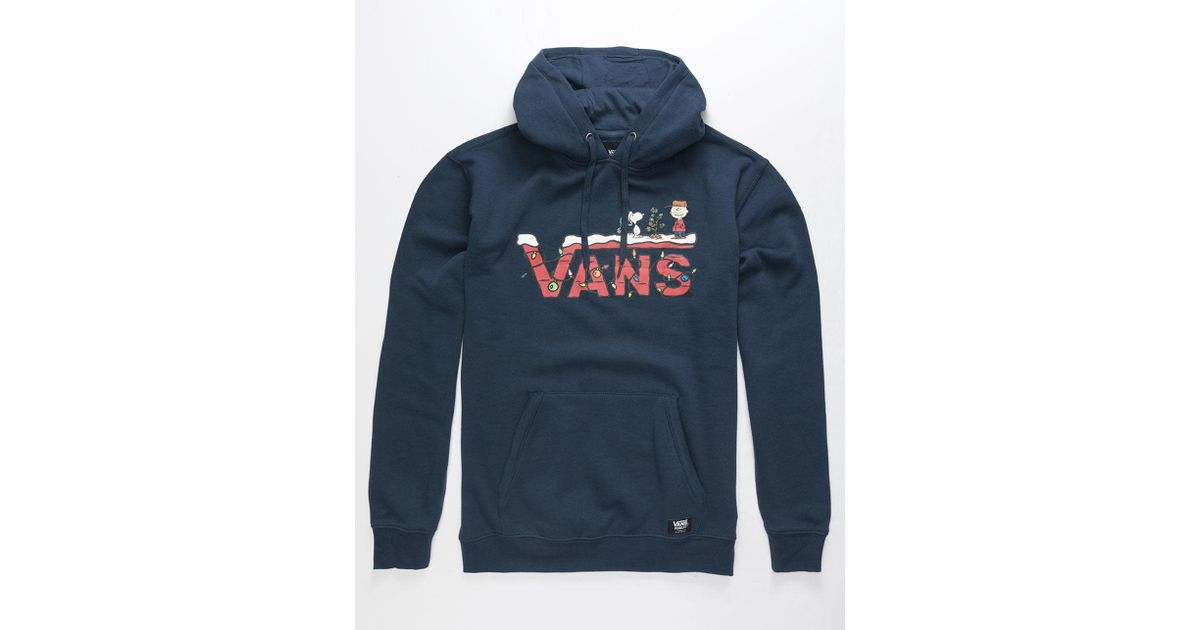 vans snoopy pullover