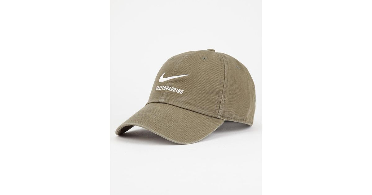 997ca079 Lyst - Nike Heritage Dad Hat in Green for Men