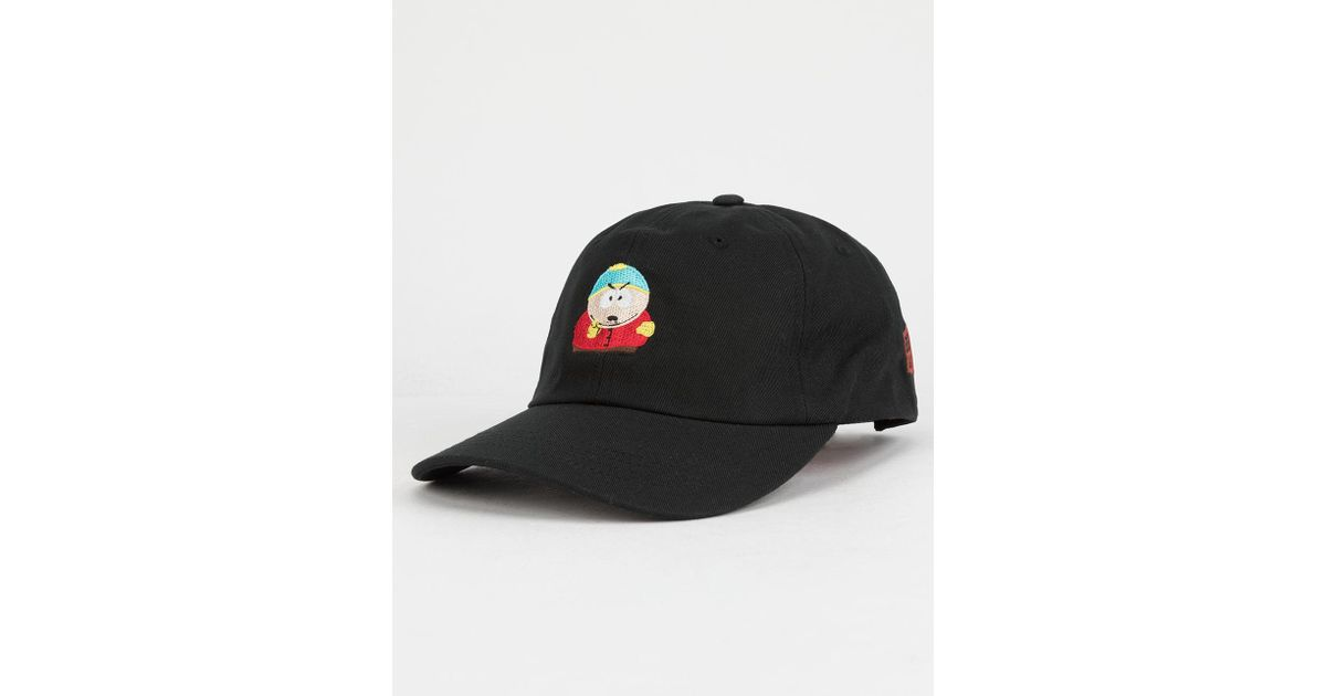 Lyst - Huf X South Park Cartman Dad Hat in Black for Men 06e6b97aeb4