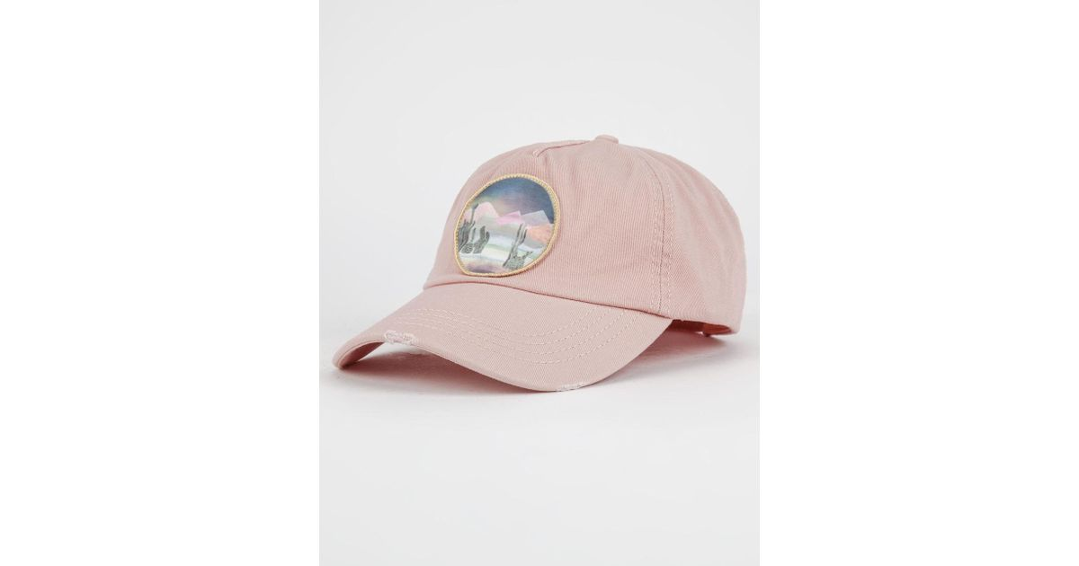 6f1fea97c5d ... australia lyst billabong surf club womens dad hat in pink 190b8 c1c5a