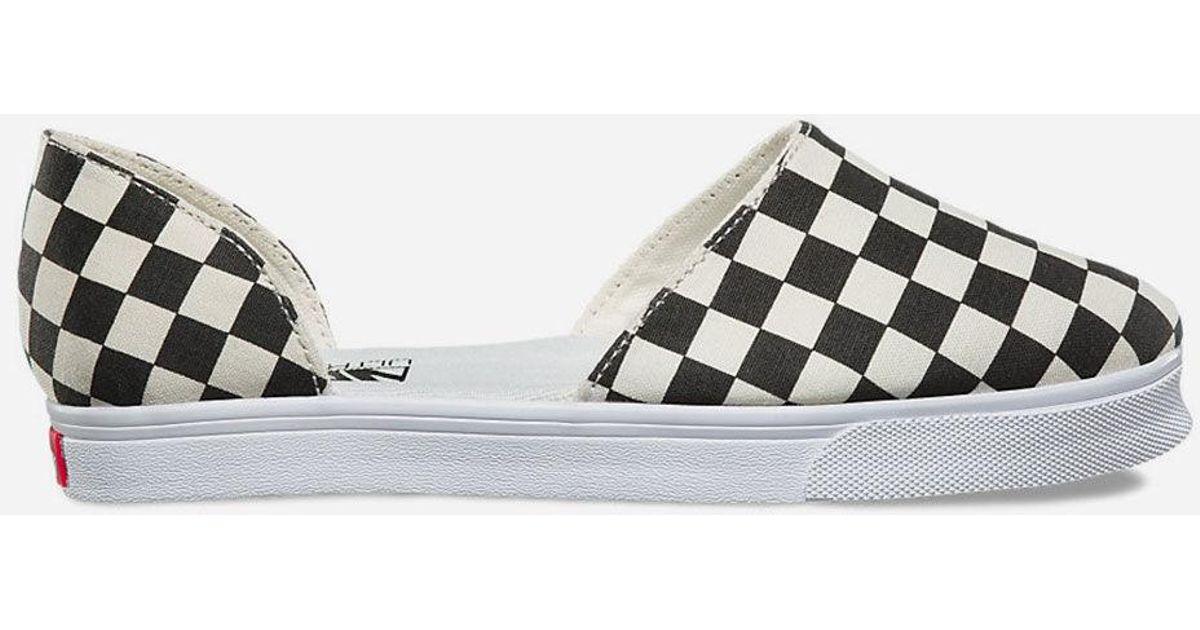 1e099e3121f0 Lyst - Vans Slip-on Skimmer Womens Shoes