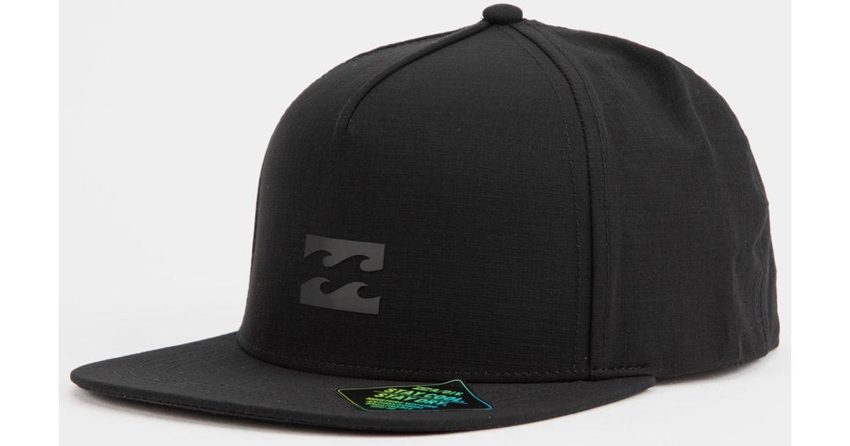 Lyst - Billabong Surftrek Mens Snapback Hat in Black for Men 12f179ea33b9