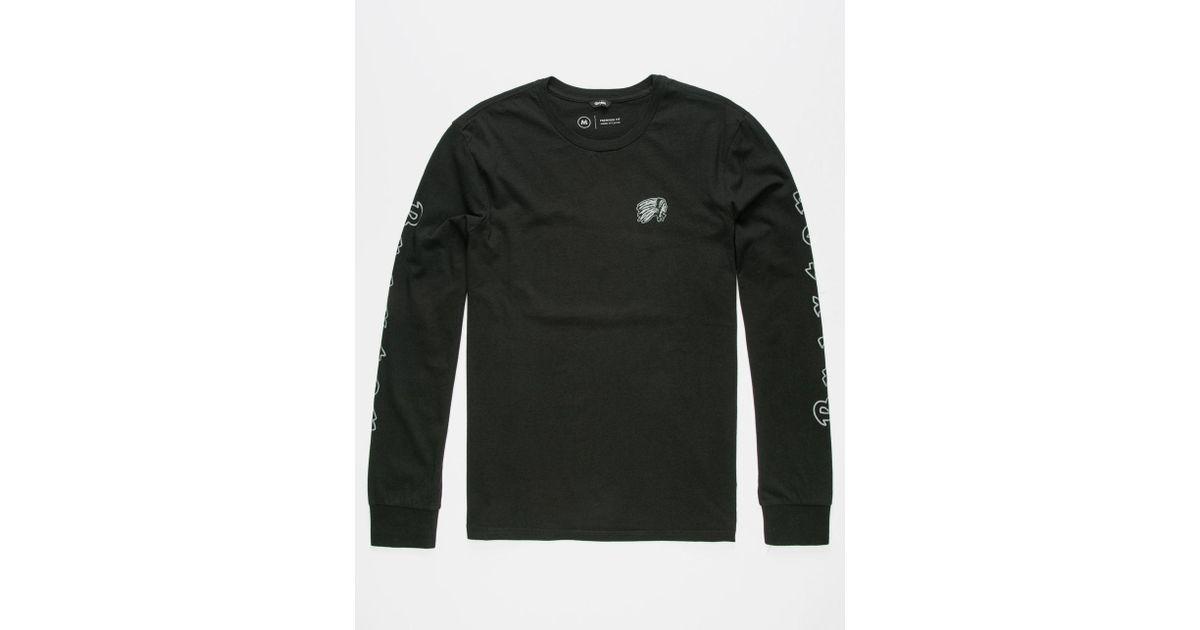 817f89c5c1eb Lyst - Brixton Primo Mens T-Shirt in Black for Men