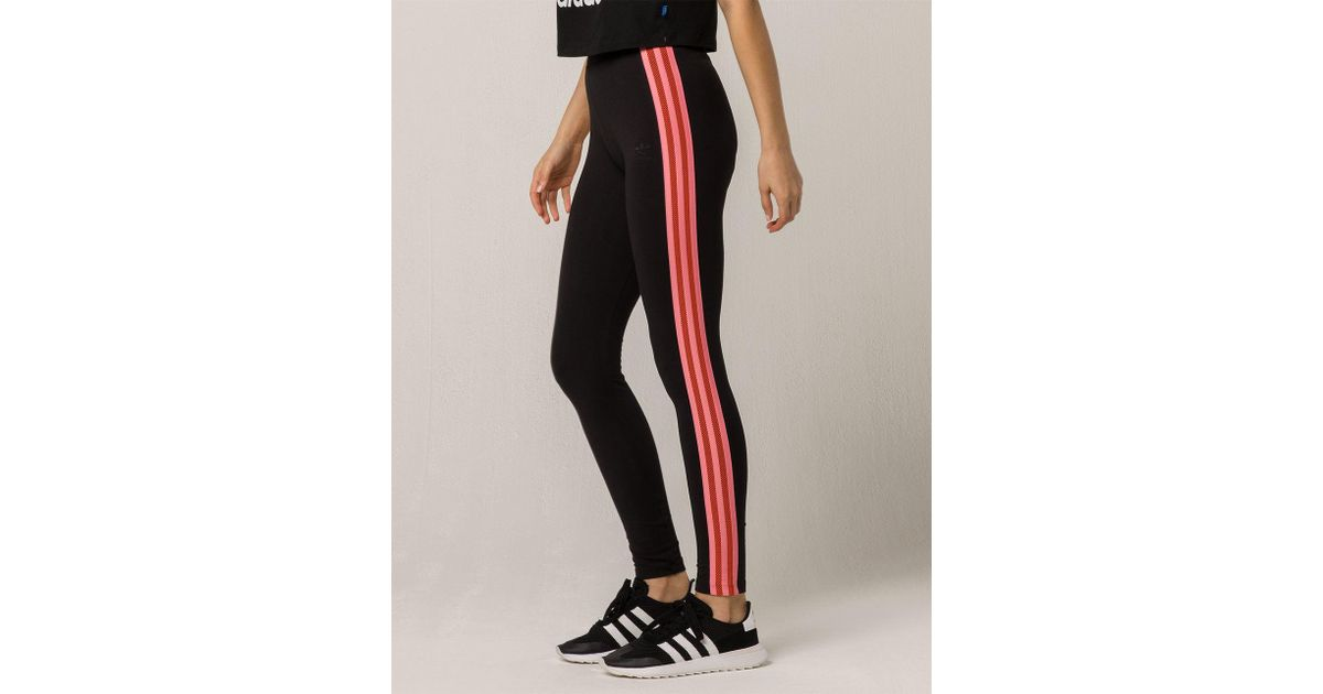 fa24fa7b7c4 Lyst - adidas Clrdo Mesh Womens Leggings in Black